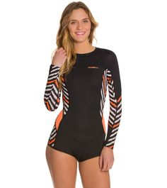 O'Neill Women's Skins L/S Surf Spring Suit at SwimOutlet.com - Free Shipping