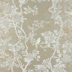 Marlowe Floral - Ebony - Floral Wallpaper - asian - wallpaper - Ralph Lauren Home. Just arrived in store this morning can't wait to use it in our next project! Asian Wallpaper, Room Wallpaper, Fabric Wallpaper, Wallpaper Roll, Luxury Wallpaper, Custom Wallpaper, Beautiful Wallpaper, Wallpaper Ideas, Metallic Wallpaper