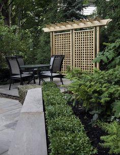 Portfolio of Work Garden Privacy, Privacy Landscaping, Backyard Privacy, Privacy Trellis, Privacy Screens, Garden Trellis, Landscaping Tips, Outdoor Rooms, Outdoor Gardens