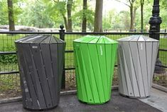 New trash bin designs.
