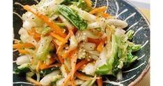 200レポ感謝★塩もみで半量、白菜消費にピッタリです。中華だしとごま油の香りにコショウのパンチがきくナムル風サラダです!