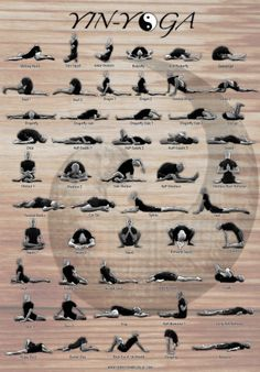 Yin Yoga pick one you need now and practice all week 2-5 minutes.
