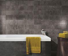 #Ragno #Milestone Antracite 15x90 cm R49Z   #Porcelain stoneware #Stone #15x90   on #bathroom39.com at 27 Euro/sqm   #tiles #ceramic #floor #bathroom #kitchen #outdoor