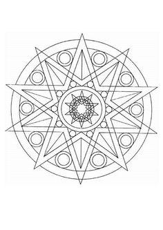native american printables | INDIAN mandalas - Medicine wheel ...