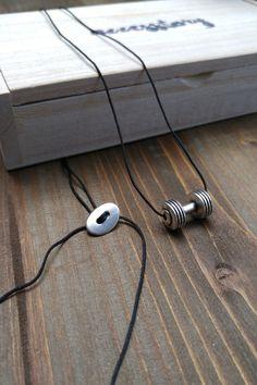 Ανδρικό κολιέ 'Body Builder' Body Builder, Men Necklace, Necklaces, Chain, Wedding Necklaces