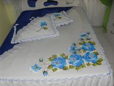 One Stroke Fabric Painting How To Paint Bed Sheet By . Painting Fabric Painting Tutorial For Beginners Fabric . Bed Sheet Painting Design, Fabric Painting, Fabric Paint Designs, Fabric Design, Bed Sheet Sizes, Deco Table, Cool House Designs, Texture Design, Quilt Sets