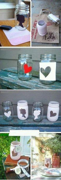 Decora y personaliza tus frascos