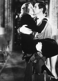 Gary Cooper and Jean Arthur