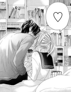 Manga Couple, Anime Love Couple, I Love Anime, Awesome Anime, Romantic Anime Couples, Romantic Manga, Anime Bisou, Reference Manga, Photo Manga