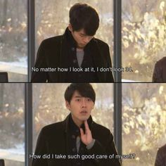 Hyun Bin in Secret Garden. Ummm...yeah. Like when he played a 28 year old in My Lovely Sam Soon and he was actually 22. Hyun Bin is like magic, but not that kind of magic.