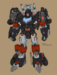 Alex Milne transformers | Transformers News: Transformers MTMTE Trailbreaker Character Design