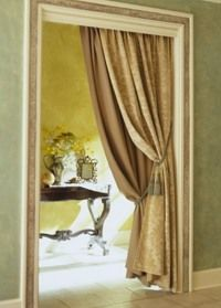 High Quality Doorway Drapes (Portieres)   Good Idea For Front / Back Door, Also,