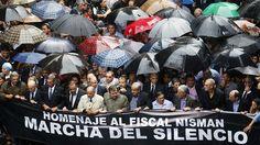 Multidão vai às ruas na Argentina para homenagear promotor - Mundo - Notícia - VEJA.com