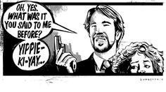 Warm-up sketch: Die Hard | The Illustrator