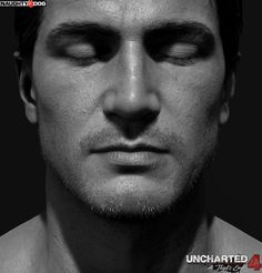 Nathan Drake- Uncharted 4 head and arm details, Frank Tzeng on ArtStation at http://www.artstation.com/artwork/nathan-drake-uncharted-4-head-and-arm-details