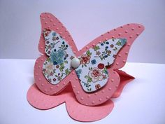 Large Butterfly Card