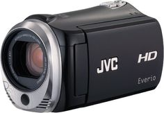 Elegant Full HD memory camcorder with #dual SD card slot for seamless recording featuring Advanced Image Stabilizer and unique shooting functions.Touch-sensitive...