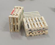 Fabio J. Fernandez, Pallet Stack, found wood, 2013