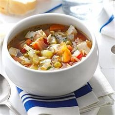 40 Flavor-Packed Healthy Soup Recipes - These healthy soup recipes may be lower in calories, fat and sodium, but they are big on taste!