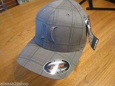 Men's hat cap Hurley surf skate dark grey logo flexfit L/XL original NEW NWT