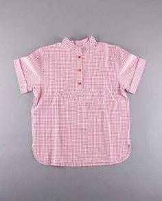 Camisa cuadros cuello mao talla 7 años (7,50€) http://www.quiquilo.es/nino/3928-camisa-cuadros-cuello-mao.html