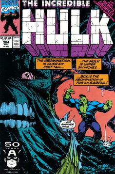 Incredible Hulk # 384 by Dale Keown