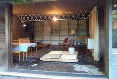 私の家 清家清 Japanese Interior, Rock Pools, Tiny House, Oversized Mirror, Mid Century, Architecture, Furniture, Gate, Home Decor