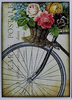 Solve Vintage Post Card jigsaw puzzle online with 140 pieces Decoupage Vintage, Vintage Diy, Images Vintage, Decoupage Paper, Vintage Labels, Vintage Ephemera, Vintage Pictures, Vintage Cards, Vintage Paper