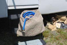 Plarn Camper Drinking Hose Bag