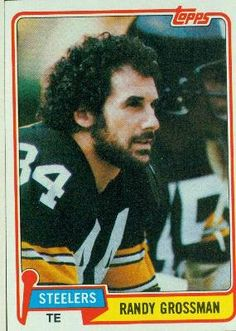 1981 Topps #256 Randy Grossman - Pittsburgh Steelers (Football Cards) by Topps. $0.01. Most Cards Shipped in Soft Sleeve and/or Top Load (See Shipping). Card Condidtion is Near Mint (NM) or Better, unless otherwise stated. Listing is for (1) One Single NFL Football Trading Card. Any Questions or Better Image Needed - Please Ask the Seller. 100,000s of Sports Cards Listed Here. 1981 Topps #256 Randy Grossman - Pittsburgh Steelers (Football Cards)