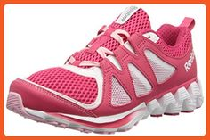Reebok Women's Zigkick 2K15 Running Shoe, Blazing Pink/White/Pink Glow, 7 M US - Athletic shoes for women (*Amazon Partner-Link)