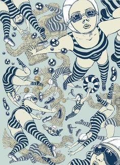 Inspiration Hut - Japanese Illustrations by Yuko Shimizu