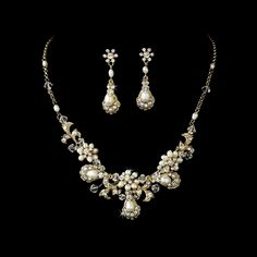 vintage pearl necklace wedding - Google Search