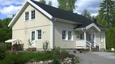 Talomalli viehättävä Älvsbytalon Tuulikki: 1,5-kerroksinen, 4 huonetta, keittiö ja sauna Huoneistoala: 101,5 m² Kerrosala: 112,5 m² .Esivalmisteltu yläkerta: 47 m²