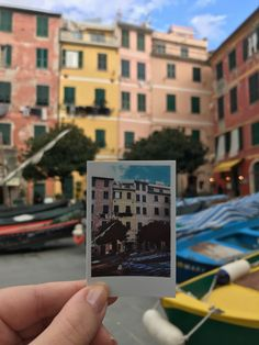 Traveling Italy with Polaroid. I loved walking around the marina in all of the five towns but it was particularly special how all the locals' boats were propped up in the Marina in Vernazza. Get Lost With Jackie Polaroid Pictures Photography, Dslr Photography Tips, Polaroid Photos, Street Photography, Landscape Photography, Nature Photography, Travel Photography, Polaroids, Polaroid Camera