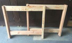 Beginner Farm Table (2 Tools + $50 Lumber) | Ana White Farm Table Plans, Farmhouse Table Plans, Farm Tables, Wood Tables, White Farmhouse, Farmhouse Chic, Side Tables, Coffee Tables, Harvey Furniture