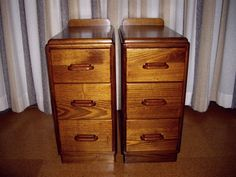 1940s bedside tables.