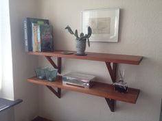 Cherry hard wood shelf