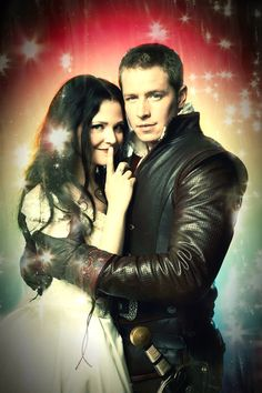 Once upon a time charming and Snow White