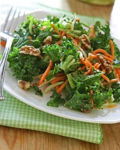This Kale Slaw from @alisonlewis looks might delicious!