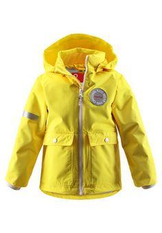 #ReimaSpring2014 #Reima70 Taag yellow jacket. Buy it online here: FI: http://www.reimashop.fi/Kategoriat/Reima/Ulkovaatteet/Takit/Takit/Takki-Taag/p/521317-2350