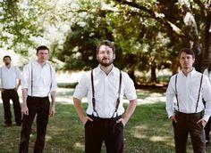 groomsmen attire for outdoor wedding | Rustic Outdoor Wedding at a Historic Wedding Venue : Brides
