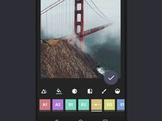 Photo Editor Design Inspiration — Muzli -Design Inspiration