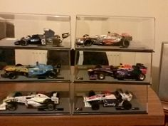Round2 fight! From the🎲cast model F1🚗s from the F1🚘collection these are from issues7 to12 7 Jenson Buttons2009 GP Brawn 01 8 Ayrton Sennas1984 Toleman TG184 9Fernando Alonsos2005 Renault R25 10 Sebastian Vettels2013🔴Bull RB9 11Jackie Stewarts1973 Tyrrell 006 and lastly12Lewis Hamiltons2008 McLaren MP4/23 enjoy the post folks and i will show you another6 model F1 from the F1🚗collection in3months🕢