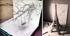 These Mind Blowing 3D Pencil Drawings Leap Off The Page At You.