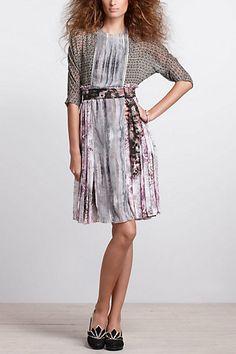 Sculptural Pinafore Dress - Anthropologie.com