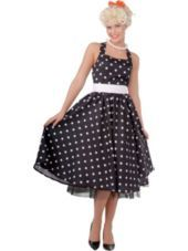 Adult Polka Dot Cutie 50s Costume-Party City
