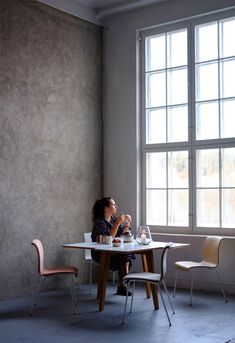 Roof windows and increased natural light - Hege in France Space Copenhagen, Roof Window, Contemporary Classic, Coworking Space, House Extensions, Little Star, White Paints, Business Design, Scandinavian Design