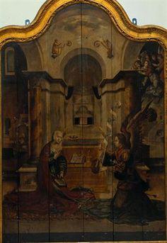 Anunciação | Museu Nacional Machado de Castro  | Autor Desconhecido, 1540 d.C. - 1560 d.C.