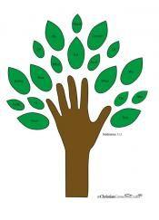 Preschool Sunday School Lessons: Life of Jesus: Fruit of the Spirit Lesson Plan